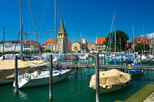 Lindauer Hafen am Bodensee