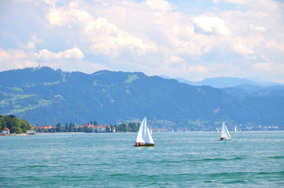 Segelschiffe bei der Bodensee-Woche