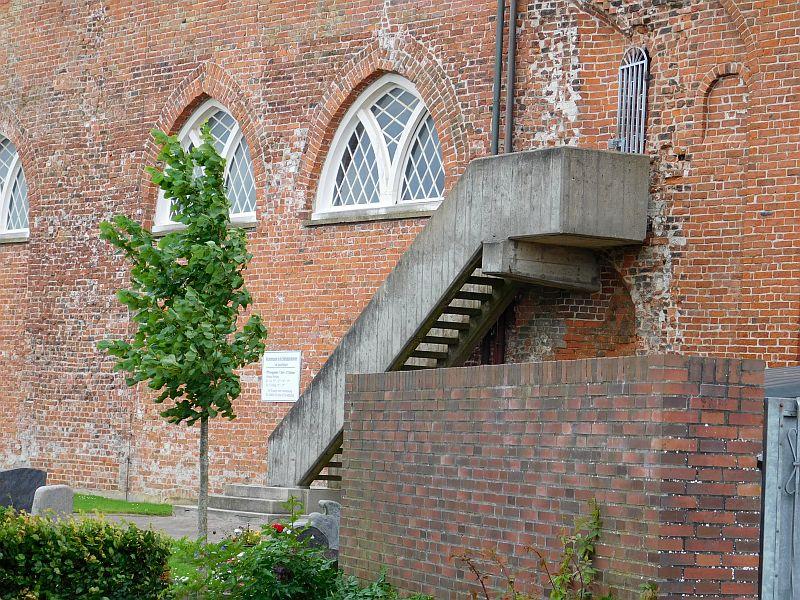 Eingang zur Störtebeker Kammer in der Marienkirche