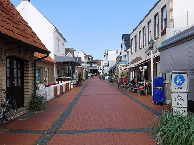 Schmiedestraße in Norderney