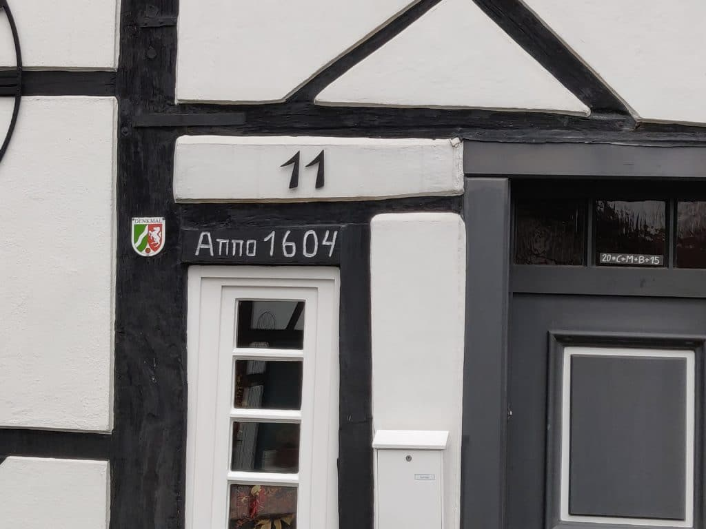 Altes Haus von 1604