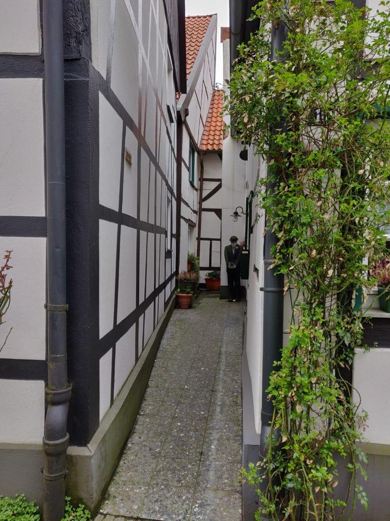 enge Gasse Dorf Westerholt
