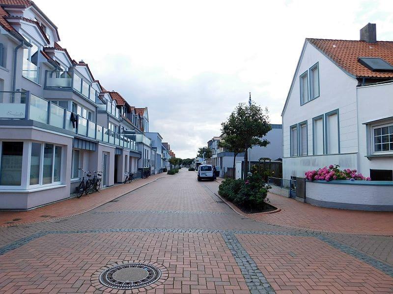 Straße in Norderney