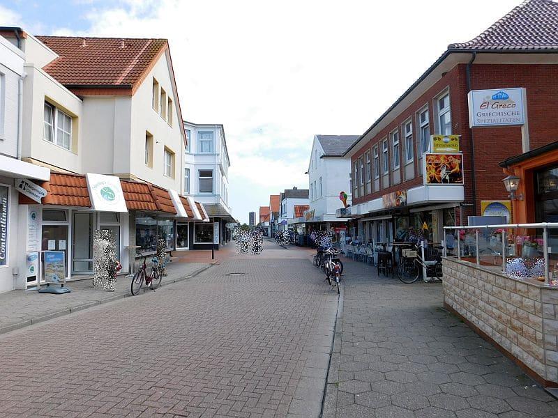 Jann-Berghaus-Straße auf Norderney