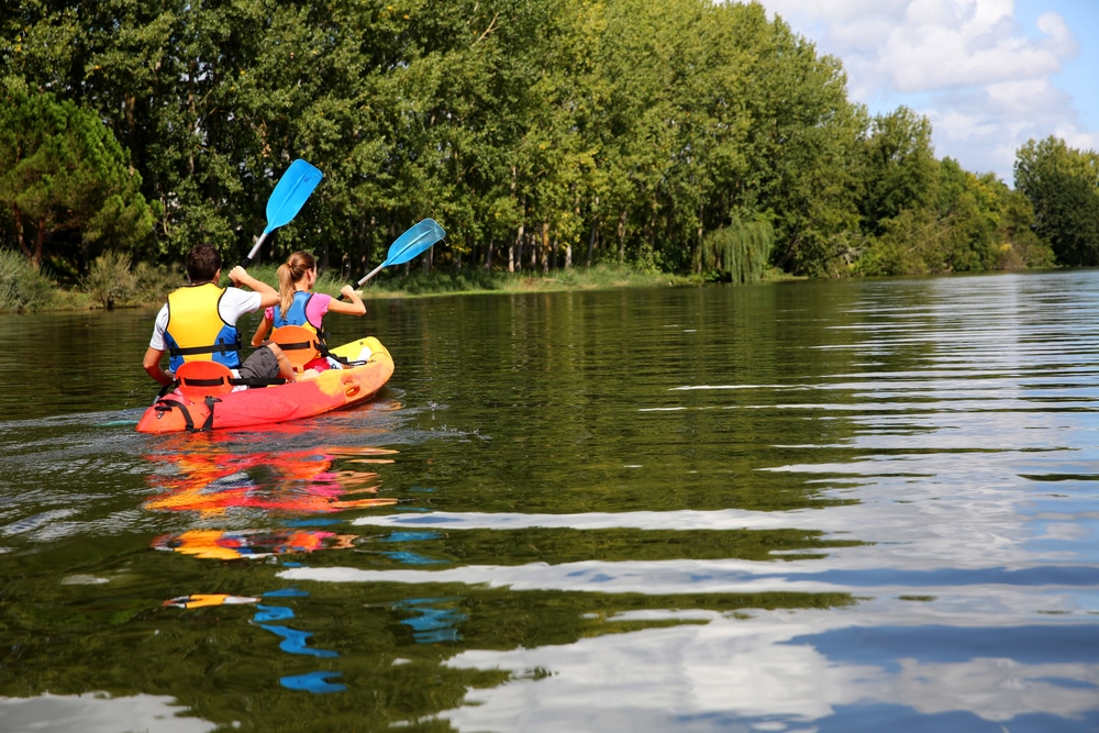 Wasserwandern auf der Mecklenburgischen Seenplatte