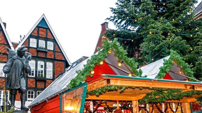 Weihnachtsmarkt in Münster- Westfalen
