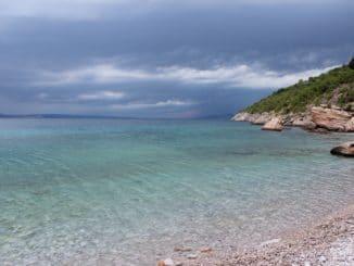 Kleine Bucht in Kroatien
