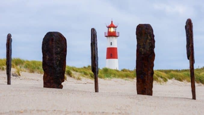 Leuchtturm bei List auf Sylt